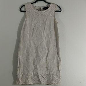 Dana Buchman | Linen Dress / Size: 8